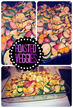 Dinner Time: Roasted Veggies & Salad – Simply Taralynn