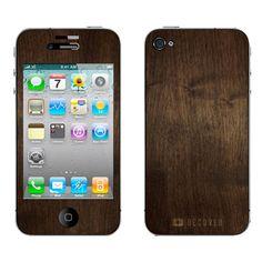 Wooden iPhone.