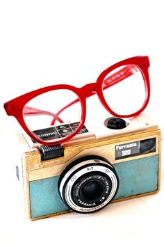 Original Vintage Eyeglasses made in Italy via Etsy