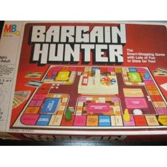 Bargain Hunter Board Game- this game was awesome!