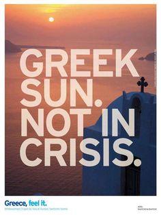 Greek Sun. Not in Crisis.