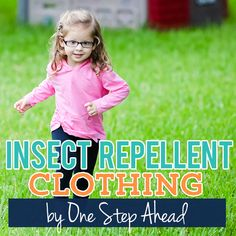 """It just got easier to keep your kids free from insect bites this summer.  One Step Ahead has taken a revolutionary step with a new line of children's apparel and gear called Bug Smarties.  These adorable clothes and accessories will keep your kids comfortable and give you the peace of mind that your children are safe from bugs…"""