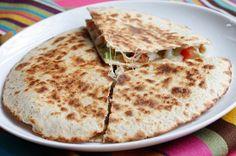 Shrimp Quesadillas with Tomato Avocado Salsa   Skinnytaste