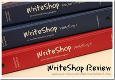 Review of middle and high school level writing program from WriteShop