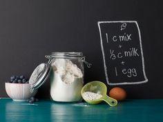 Almost-Instant Pancake Mix #RecipeOfTheDay