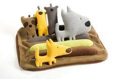 Creatures #handmade #toys #toy #stuffed #stuffedtoys