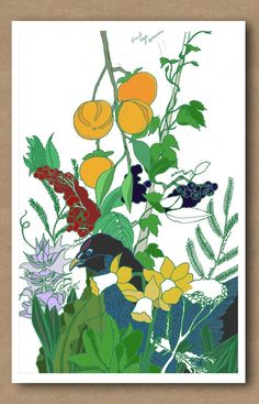 Permaculture Guild Print by Renee Garner on Little Paper Planes $30