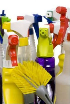 Pantry Recipes for Homemade Cleaning Products