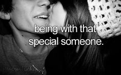 being with that special someone