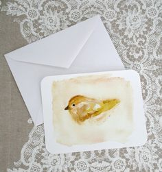 """""""A Bird I Once Knew"""" cards by Renée Anne on Etsy 