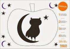 pumpkin stencil, halloween pumpkins, owl, pumpkin carvings