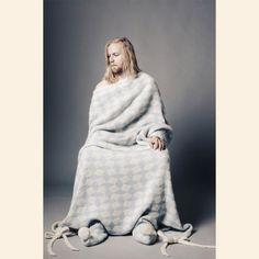 Snowblanket   Textile Vik Prjonsdottir  Design: Vík Prjónsdóttir.
