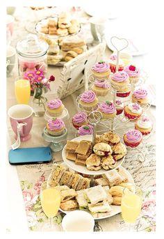 High tea table ideas