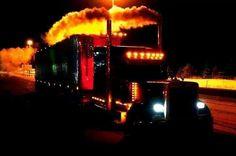 http://logisticalmadness.com   Awesome Peterbilt chicken lights