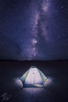Alvord Desert playa, under the Milky Way | Oregon, Washington