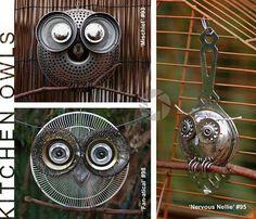 more tea strainer owls