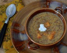 Sweet Potato Soup with Quinoa & Coconut Milk © A Veggie Venture