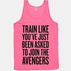 Train Like You've Just Been Asked To Join The Avengers