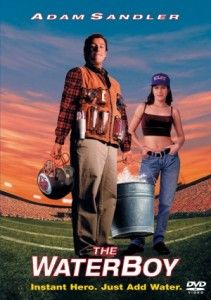 The Waterboy dvd Adam Sandler