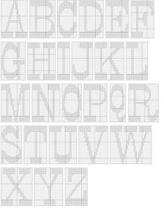 captal letters