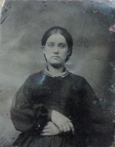 Tintype ~ 1800's Photo. Civil War Era.