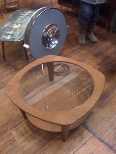 Coffee Table, Heater and Ballet Table at the Vintage Furniture Flea