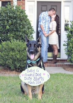 10 Great Pregnancy Announcement Pictures. It would be hilarious if we had little Chloe do this!!