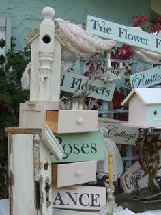 The Flower Field, Roses, Cottage signs  Garden Signs