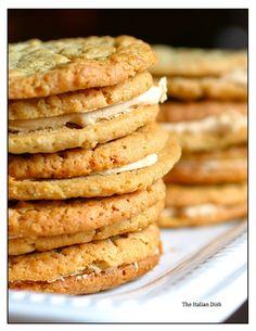 "Bouchon Bakery's ""Nutter Butter""Cookies #dessert #baking #cookies"