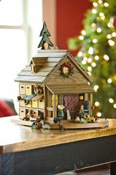 Woodland Cabin Advent Calendar