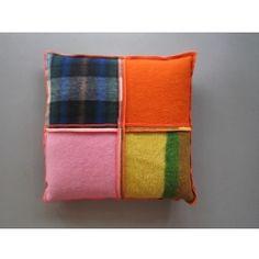 MeS Kussen MCU02 Patchwork/ blanket