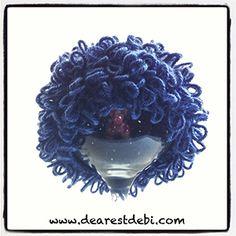 Crochet Cabbage Patch Kid Newborn Boy Beanie - Dearest Debi Patterns