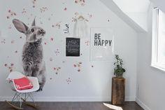 Vinyl Wall Sticker Decal Art Bunny by urbanwalls on Etsy