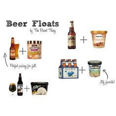 Beer Floats for your Oktoberfest Party