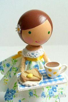 tea tray girl!