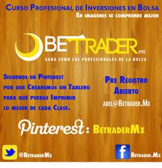 Pinterest y BetraderMx