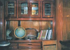 Room in old refinished wooden schooner docked in Savannah