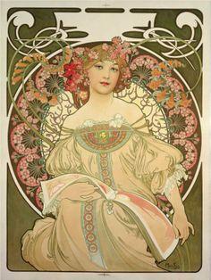 Champagne Printer Publisher - Alphonse Mucha (1897)