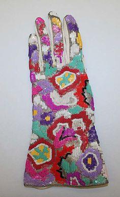 1940s silk Gloves, Kayser-Roth Glove Co., Inc., American