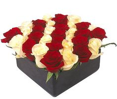 Here's a great idea for funeral flowers, instead of a depressing funeral arrangement send freshly cut roses in a nice container that holds water. After the service give friends and family a rose to take home and enjoy and remember your loved one. #funeral idea, #funeral flowers, #funeral gift, #memorial gift, #funeral arrangement