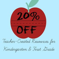 20% off #teachercreated resources #printables