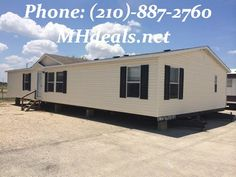 http://bit.ly/V1eYHD $61,900 Call Us (210)-887-2760 A gorgeous 2002 Clayton Pinehurst Used Double Wide Manufactured home. 4 bedrooms and 2 bathrooms. 1,568 square feet (28 x 56). Each room comes with a ceiling fan. Large living rooms and kitchen. Kitchen has lots of storage and and island equipped with an outlet. Separate laundry room. LIC 36155