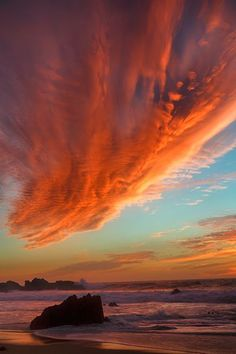 don smith, nature beauty, sky, color, big sur, sunset, state beach, cloud, garrapata state