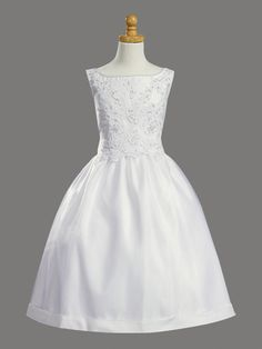 First Communion Gowns fe052 $65.00