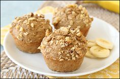 Hungry Girl's Nutty Banana Muffins