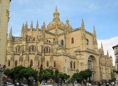 Segovia Cathedral, Segovia, Spain.