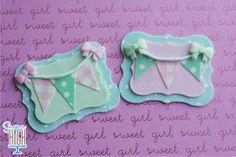 cupcak decoración, bunting topper cupcake, cakecupcak topper, cooki, bunt banner, cupcake toppers, fondant cupcakes