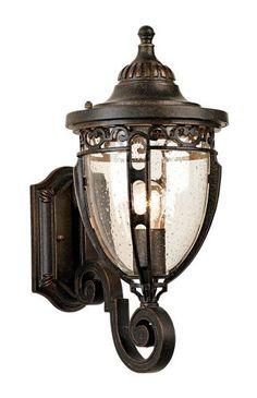 bellisimo bottom arm 16 high outdoor wall light by john timberland. Black Bedroom Furniture Sets. Home Design Ideas
