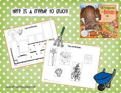 kindergarten crayon, books, idea, tops and bottoms, plants, book top, gardens, gardening, crayons