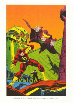 From Strange issue 20, August 1971 Artwork by John Romita, Sr and Frank Giacola Recoloured artwork originally featured on the cover of Daredevil issue 20, September 1966